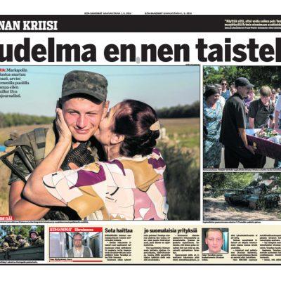 Ilta Sanomat newspaper, Finland