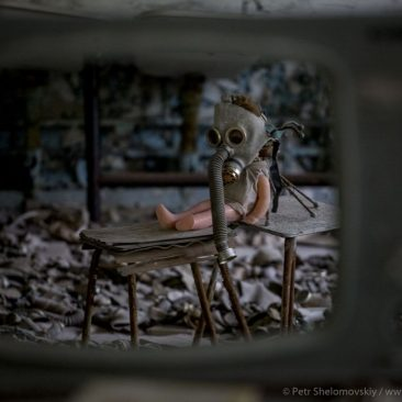 Aftermath of Chernobyl's radioactive rains